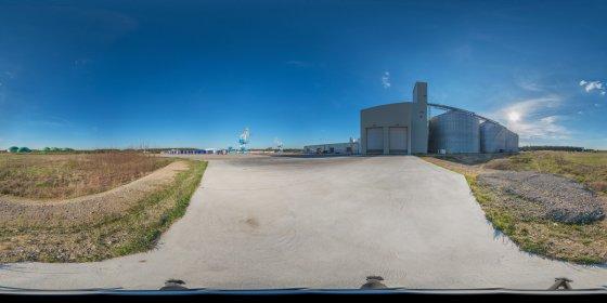Play '360° - Industriegebiet Hafen Schwedt/Oder